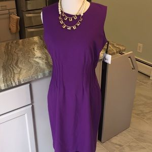 NWT Calvin Klein Purple Dress